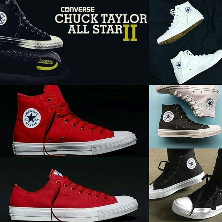 Lanzamiento nuevas #chucktaylorallstar2 #chuck2 #12cuotasSinInterés - Suela LUNARLON - mas comodas!!