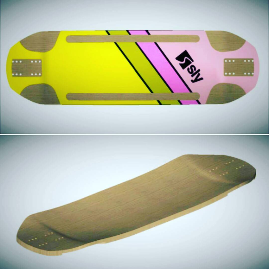 Sábado de Prototipos en #SlySkateboards #manija #dominalasmontañas #Downhill #downhillskateboarding #mach1 #fast