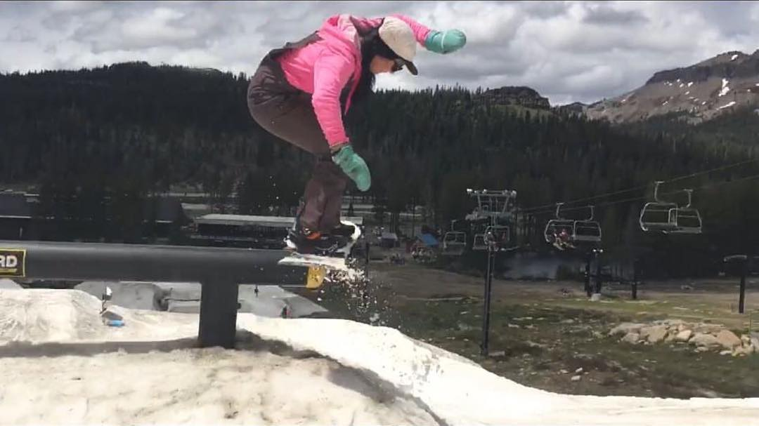 @fancyrutherford at the @686 @woodwardtahoe week @borealmtn  #weareok | #Fawesym | #handmadeusa | #forridersbyriders | #smokinsnowboards | #3yearwarranty |