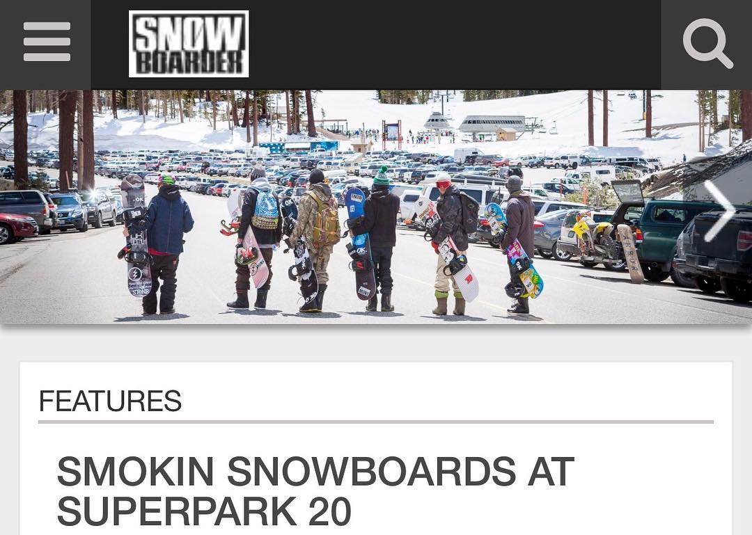 Smokin Snowbords at Superpark 20  edit is live at snowboarder.com , big thanks to @snowboardermag @mammothmountain @thumprint @nial_romanek @eldulche @greydinmccalla @_swells_ @shoma3 @benbirk @matt_busedu @space_rok and @smokinsnowboards for making...