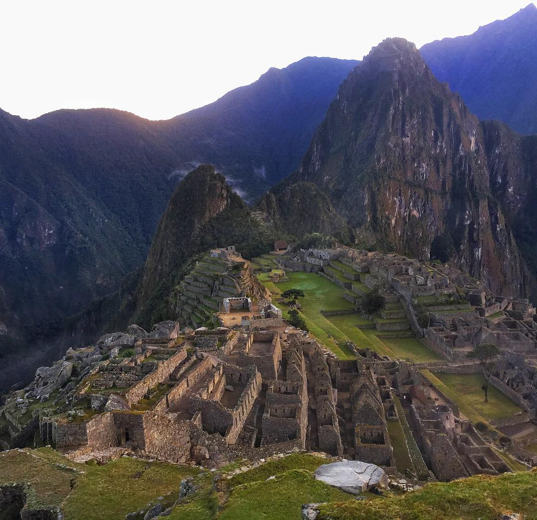 || Machu Picchu at sunrise || Our new Creative Ambassador, Crista, in Peru for an environmental awareness campaign!  PC
