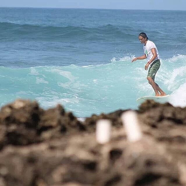 Repost from @braddhabing showing us how to have fun in a pair of noRep boardshorts! #hawaii #surf