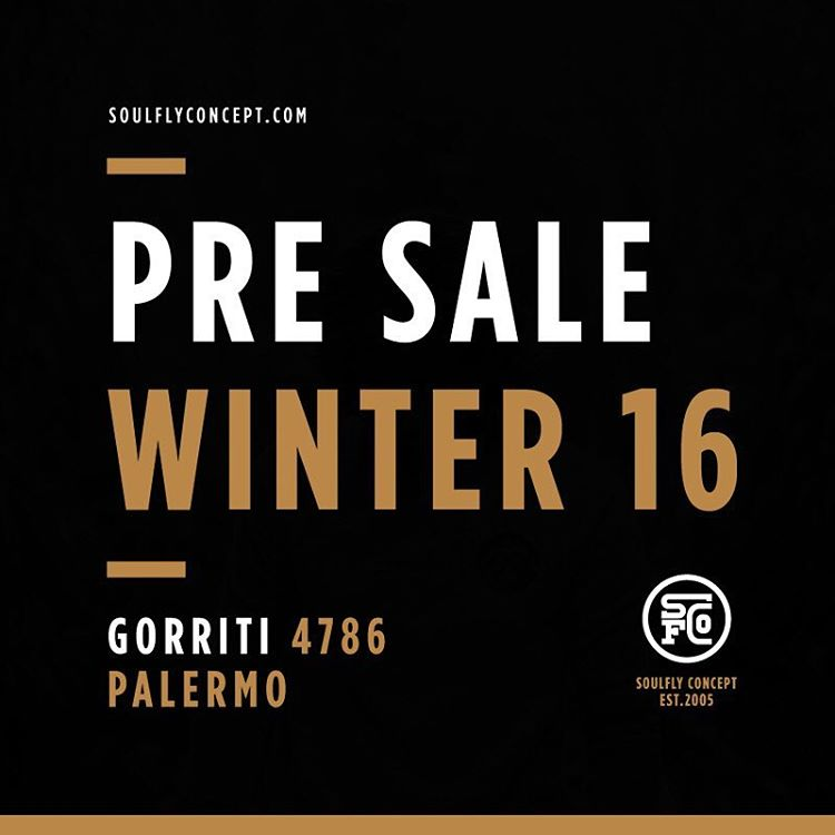 Pre Sale Winter 16