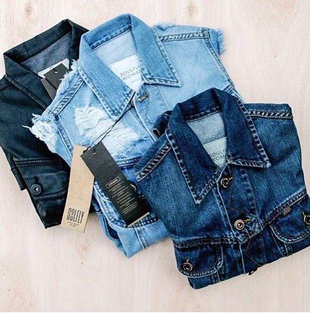 Camperas de jean