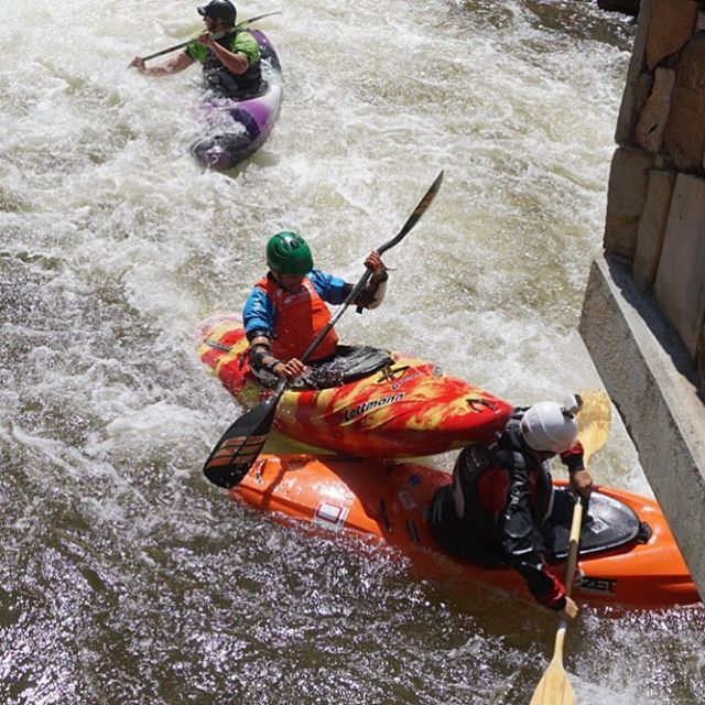 When you pair whitewater kayaking @coorslight and the @mountaingamesvail you get 8-Ball...a rule free full contact race full of pain! #colorado #optoutside #vail #whitewaterkayaking #gopro #gopromtngames #a6000