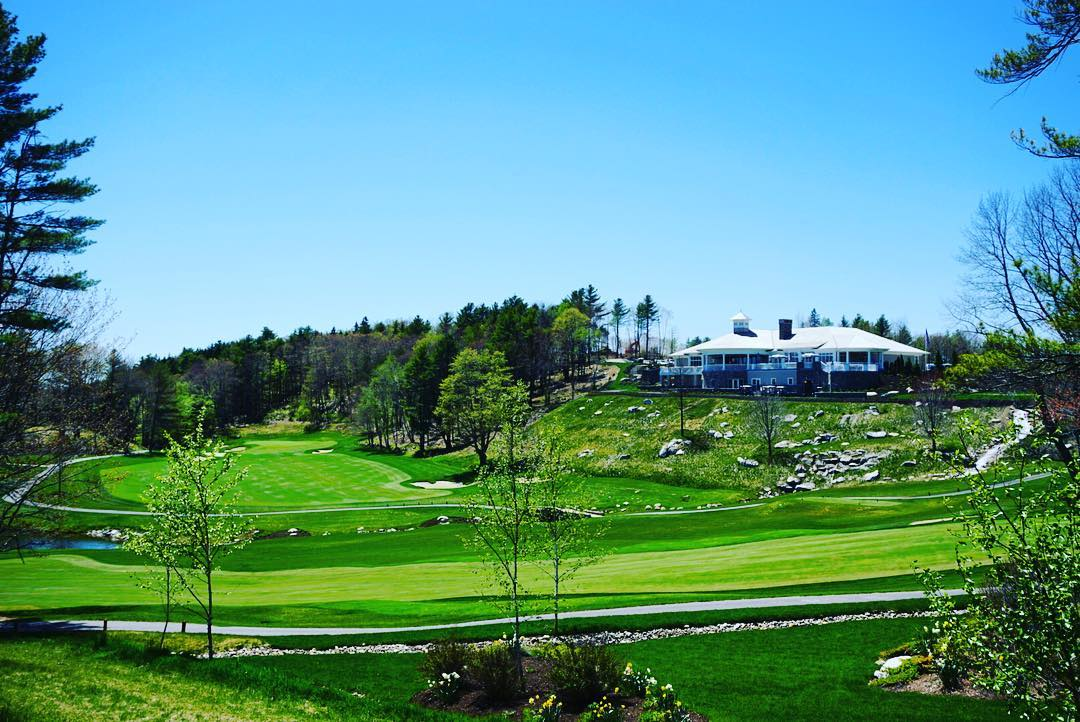"""Where luxury meets nature"" Very excited about the brand new and improved Boothbay Harbor Country Club!  #Maine #golf #BHCC #luxerylife"