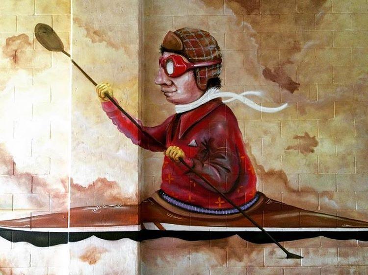 @lucasaokiart • • #spratx #lucasaoki #art #mural #austintx