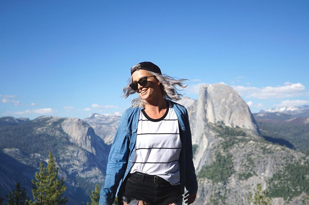 Can't help but smile!  #SEEHAPPY like @possumtorr in Yosemite, CA.