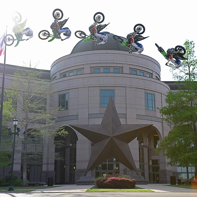 We're about to make history in Austin. @joshhansen100 @bullockmuseum #XGamesAustin Photo: @phil_ellsworth