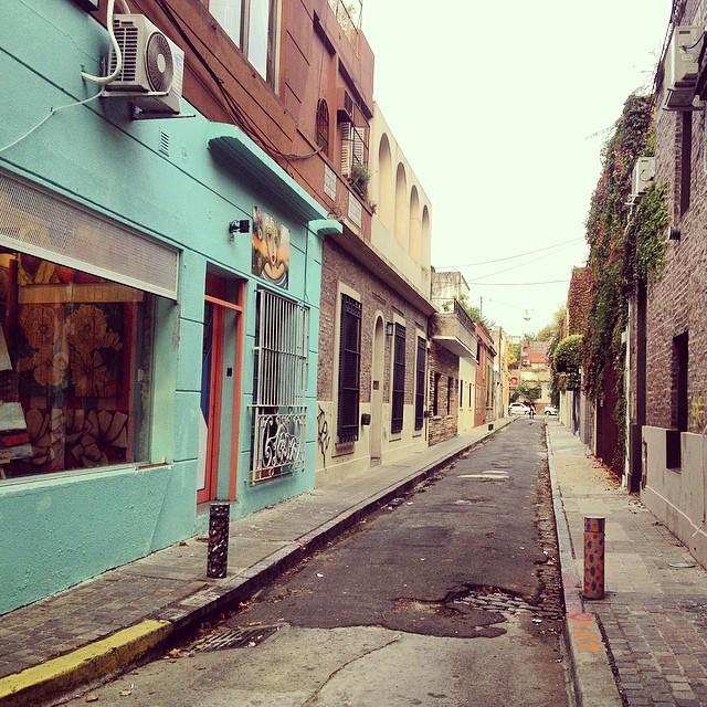 Mini calles de Palermo #argentina #bsas