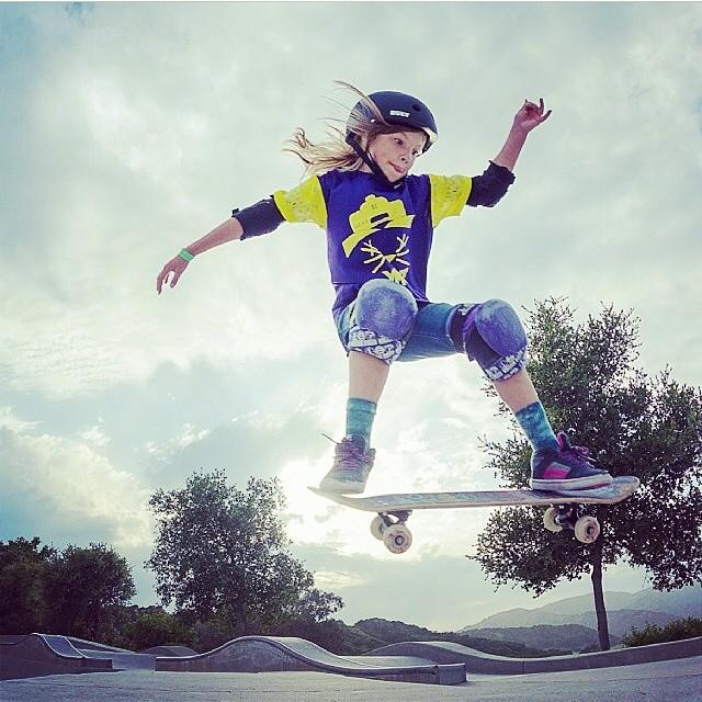 Serious skate face! @zoesafanda #skate #skateboard #skateboarding #skatepark #girlskater #gofast #bult