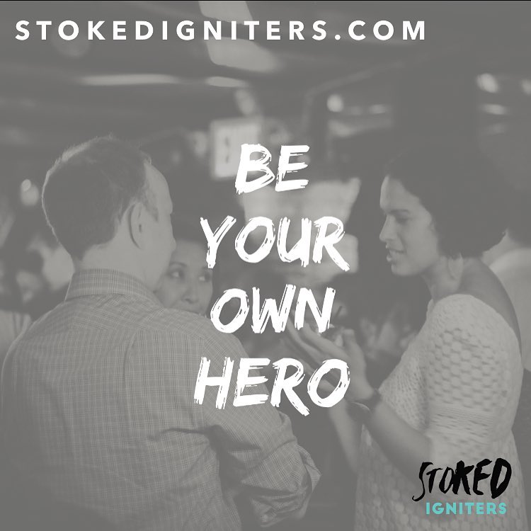 Be your own hero. STOKED Igniters is a community of leaders and go-getters determined to changing the world! Doors open until June 30th! Link in bio