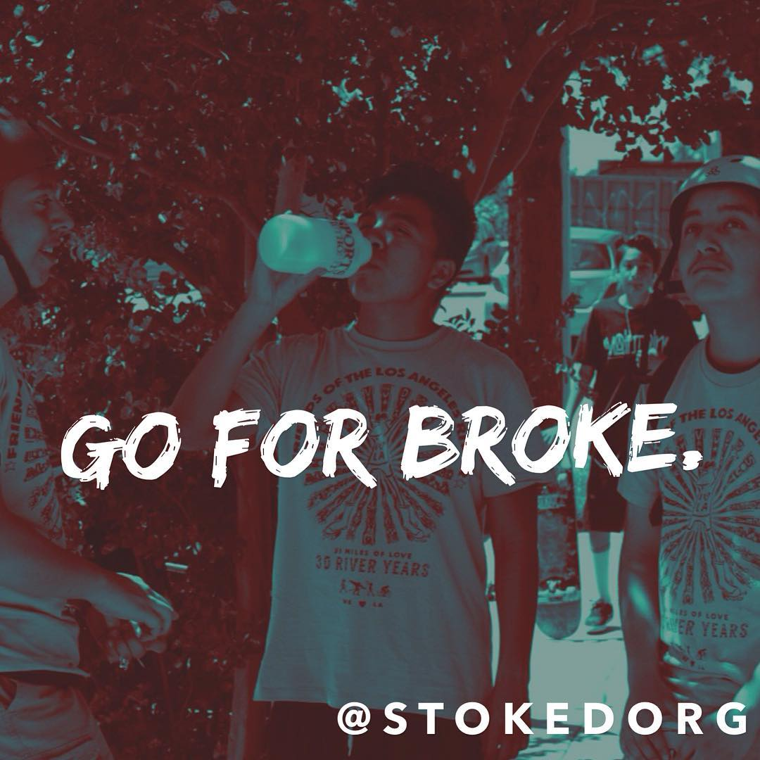 Go for broke. You know you're going to make it if you give it your all and let nothing stop you from shining. Just take that first step!