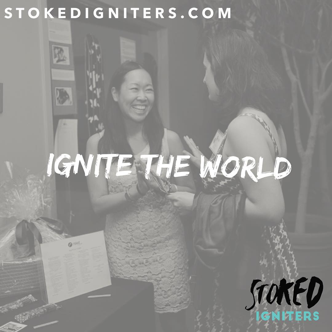 Ignite the world. STOKED Igniters is a community individuals determined to Creating Fearless Leaders. Join us! Doors open until June 30th. Link in bio.
