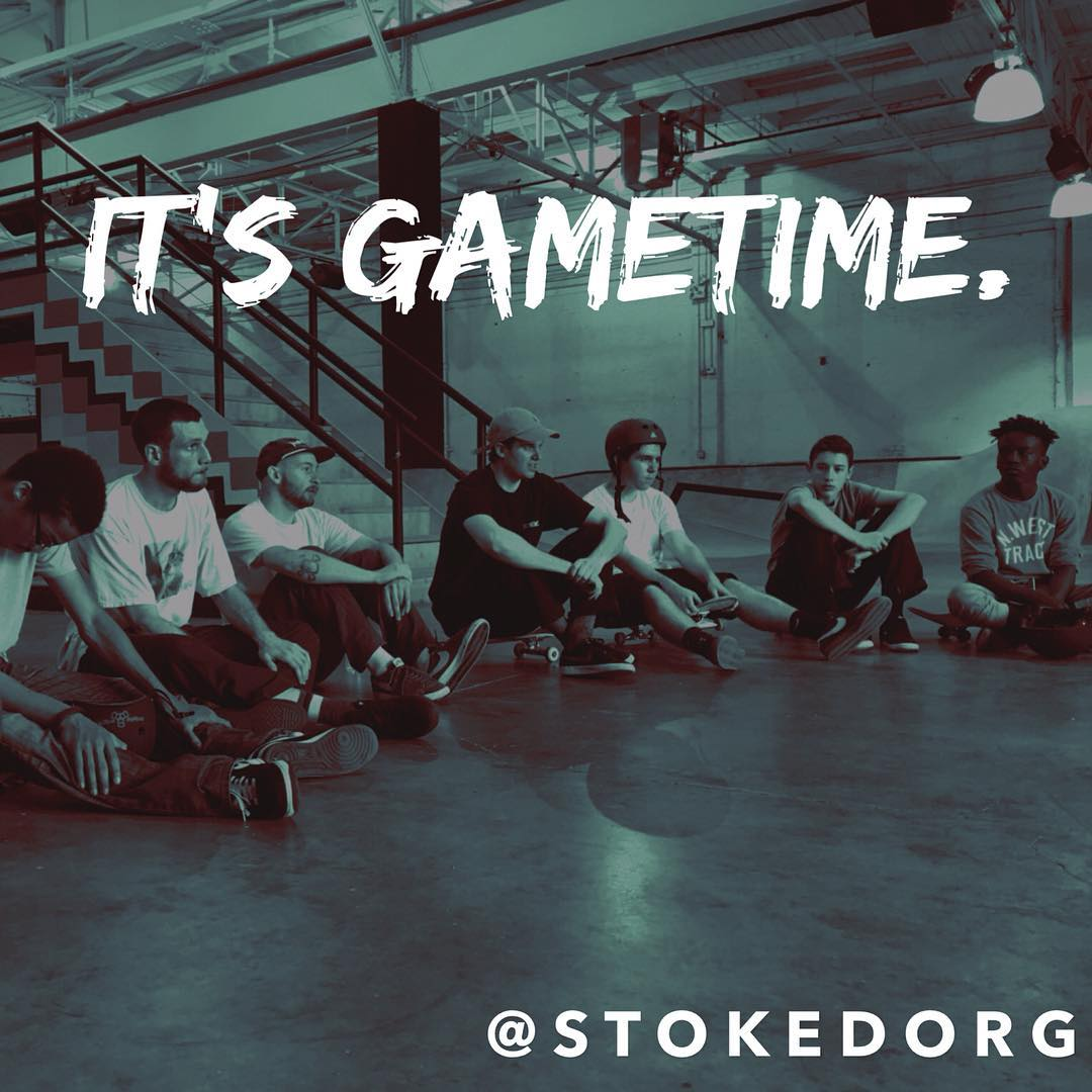 It's Gametime. Get up and move! Change the world today!  #surfing #skateboarding #snowboarding #actionsports #education #mentoring #skateboardingprogram #motivation #leadership #highschool #college #afterschoolprograms #middleschools #bigbrothers...