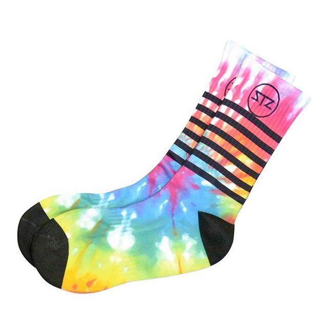 Tie dye wavey socks | ✌