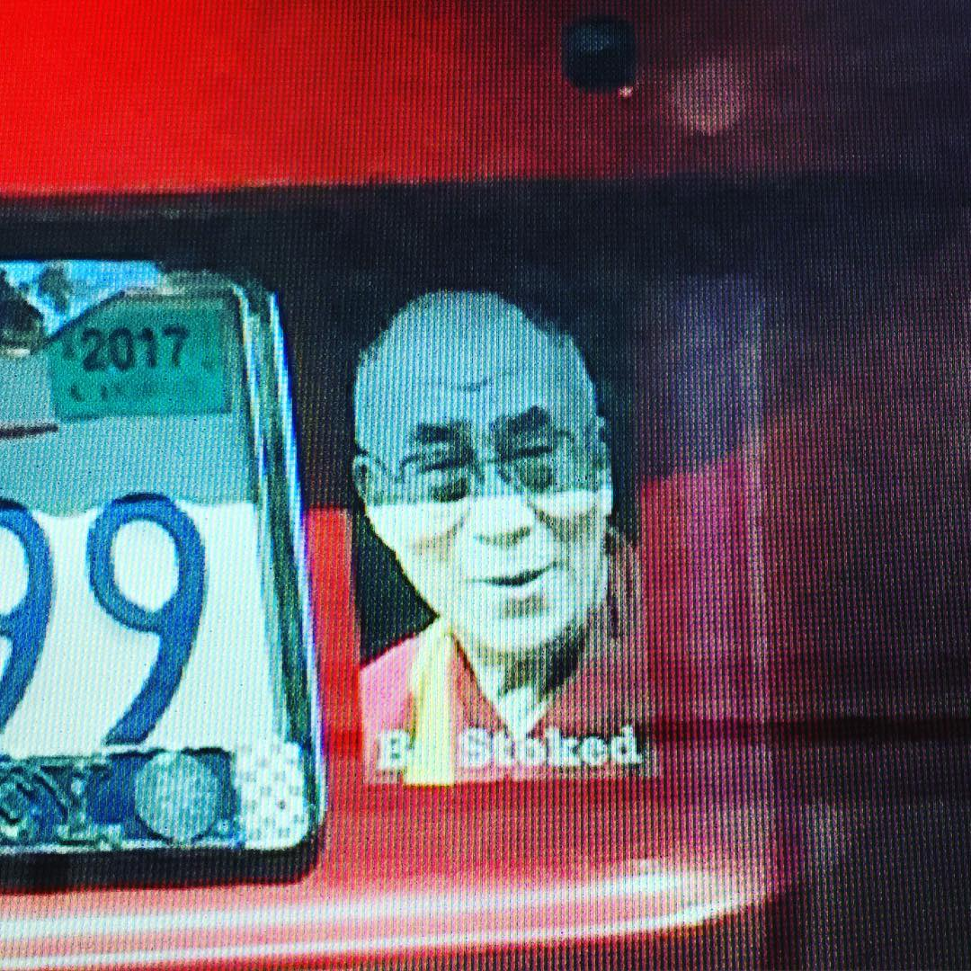 #Sage Advice - we're pretty sure the @dalailama would be as #stoked as we were to see this set of #chakras rolling down the road ~ powered by simple, clear words of positivity... and low-carbon  #hybrid motor technology!  The world's top #monk has been...