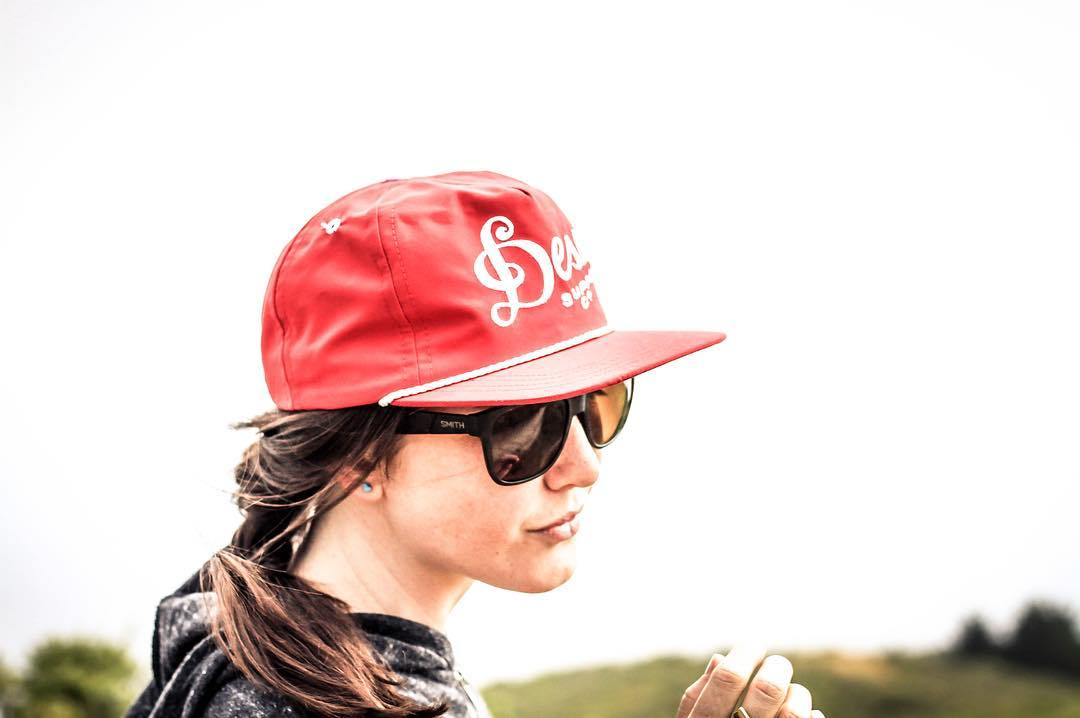 Made in California. The hat, and the girl.