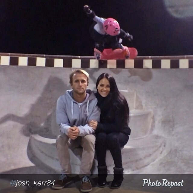 @sierrakerr over the cake and the parents at Alga Norte. @josh_kerr84 @pinkhelmetposse #skate #skateboarding #skatelife #skatepark #skatergirl