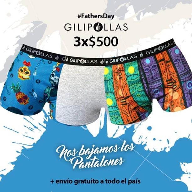 En el día del padre, el regalo va de parte nuestra ;)… #gilipollas #diadelpadre #underwear #fathersday #nosbajamoslospantalones www.gilipollas.com.ar