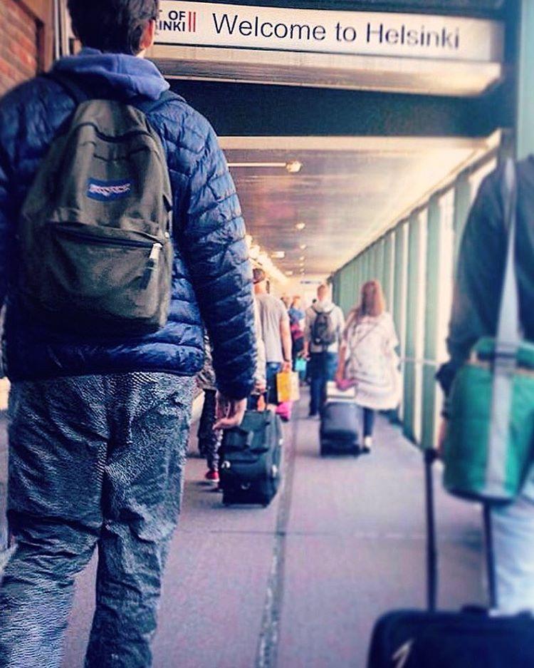 #Spotted nuestros #DomingosConOnda llegando a #Helsinki