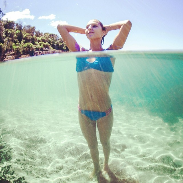 Last day of the #earthday #sale! 25% of the #boho and #boho #surf #top in all colorways! Here is the #Azure and #caribbean by @stellacrick #beautiful #underwater #photography #australia #beach #ecofriendly