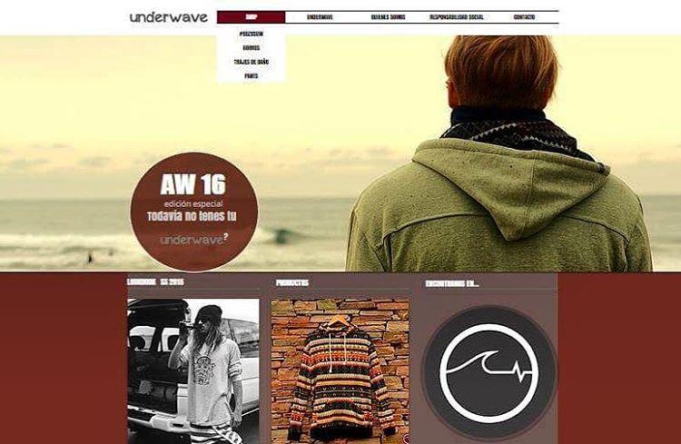 Ya podés ver todos nuestros productos en www.underwavebrand.com, renovada con nuevo diseño! - Próximamente con carrito de compras - Se viene el SHOWROOM! - #FeelIt