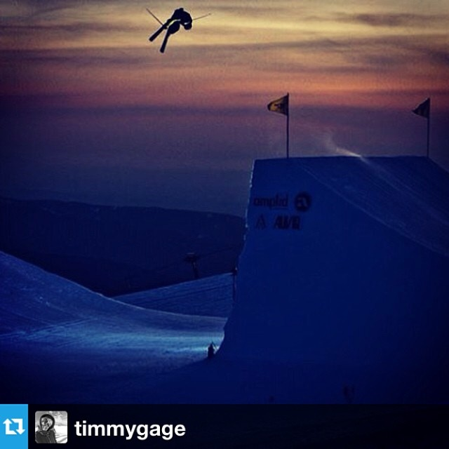#Repost from @timmygage with a killer shot from the West Coast Session last year. Can't wait to see what he comes back with this time around in his #freesoul10's! --- #tbt to one of the sunset sessions  @westcoastsession on Mt.Hood! Can't wait to get...