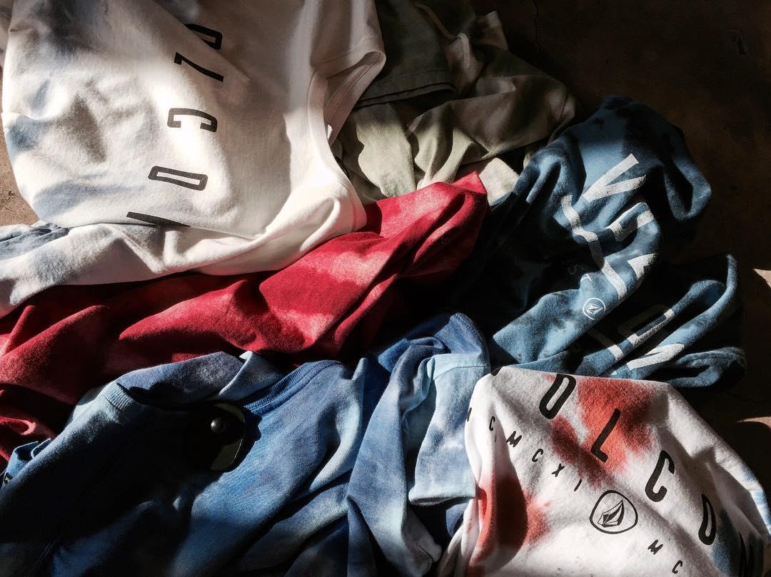 Washed Tee: remeras fullprint con teñido en prenda. #AW16