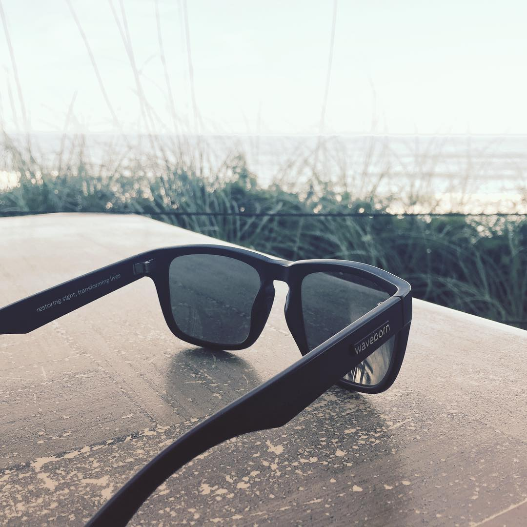 You can #findthesun with #Waveborn #sunglasses in #Saint #Augustine #florida #matte #black #beacon