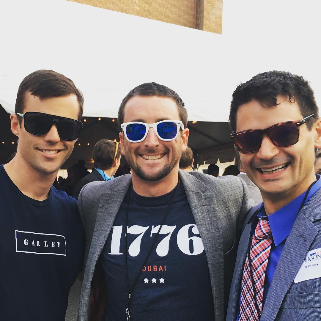 Great companies with great founders at #1776 #challenge #cup @dcgalleyfoods @tylergraydc #waveborn #dc #dubai #givesight