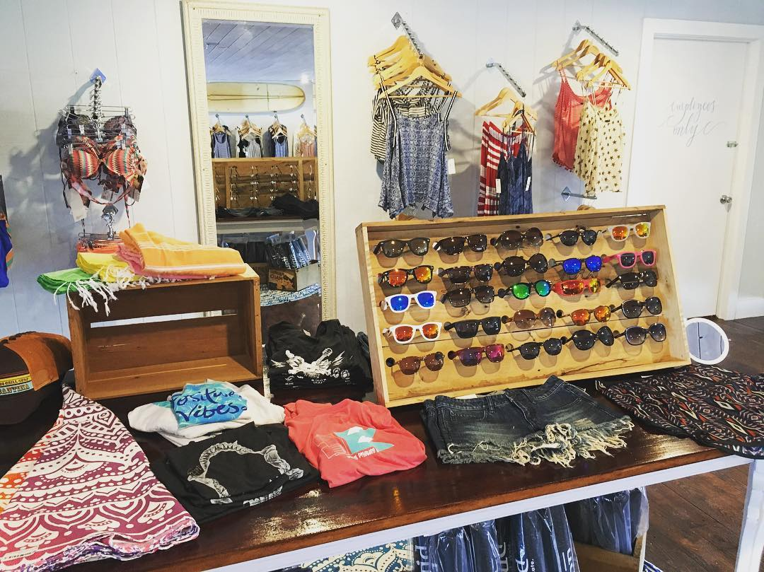 Summer is here for the #women of #Rehobeth #Beach! Check out the 2nd floor at @liquidboardshop for all your #swimwear and #sunglasses #needs #wants #waveborn #findthesun #summer2016