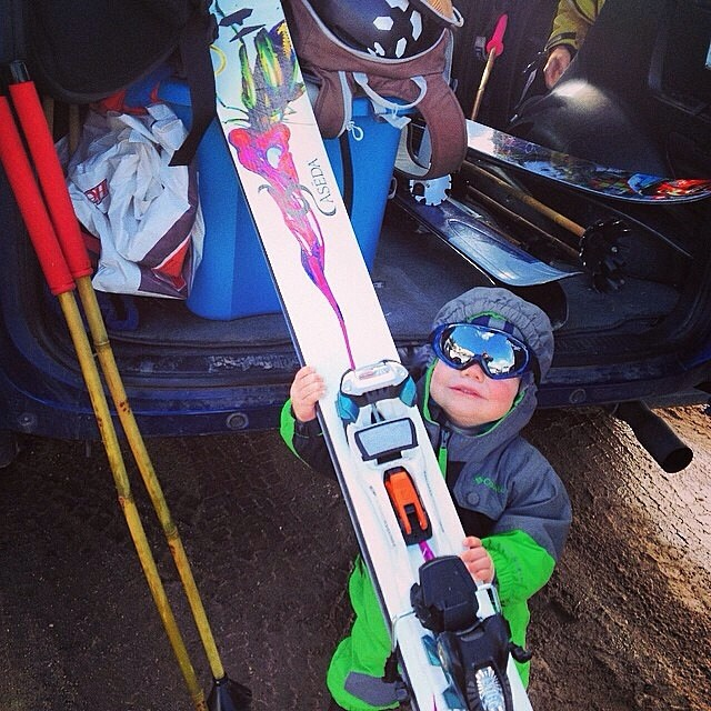 #MozesMontana heads out to test some American grown #bambooskipoles on his Wubanger Team 190s back in March... Test results are a go! #TRIBEUP li'l Mo-Z!  Photo: @mophofomo  #pandapoles #americangrown #rideroperated #familyowned
