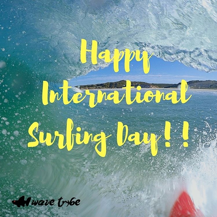 Go surf!! #internationalsurfingday
