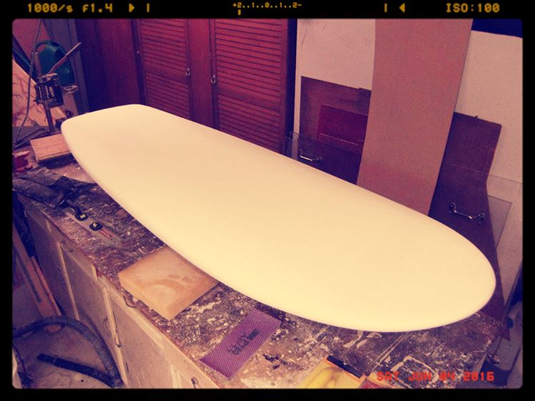 Fresh #surfboard foam #fun #frivolous #wavetribe