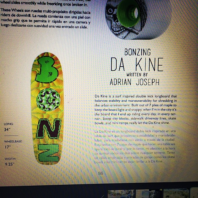 @hdhmagazine # 3 is out and has a great write up on the new Da Kine!  Go to hdhmagazine.com to read Issue #3 and checkout the great photography and good stories.  #hdhmagazine #bonzing #adriandakine  @adrian_da_kine