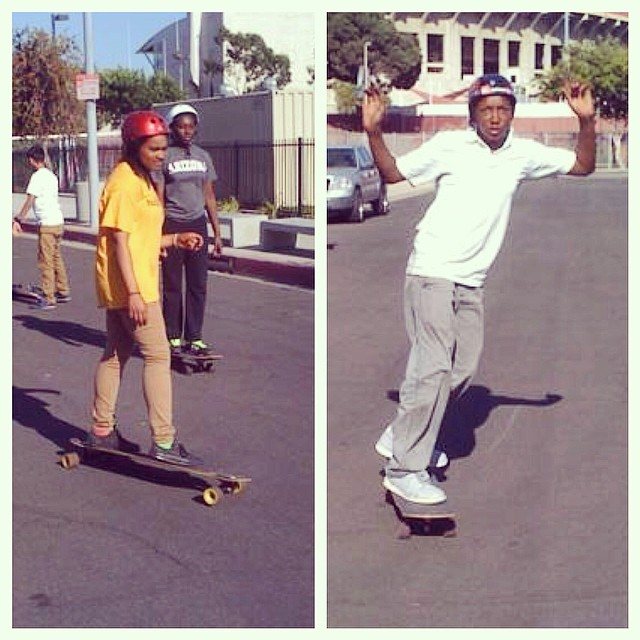 STOKED LA skate season is fast approaching! Team STOKED is practicing, learning, and ready to skate. #stokedla #brotherhoodcrusade #skatementor #youthskateboarding #stokedneverstops