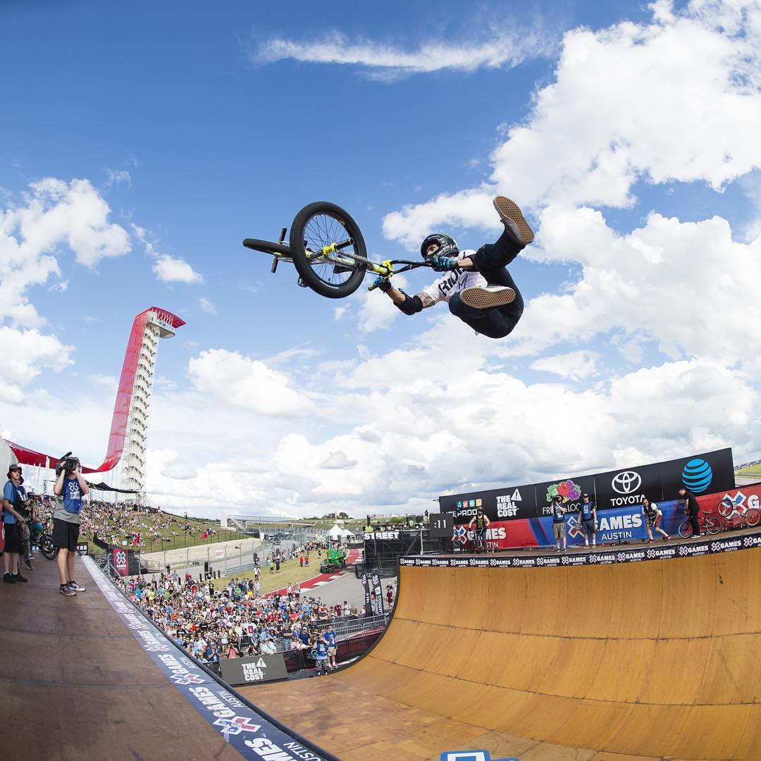 Our complete #XGames Austin BMX Vert competition is now available online!  Click the link on our profile page to check it out. (