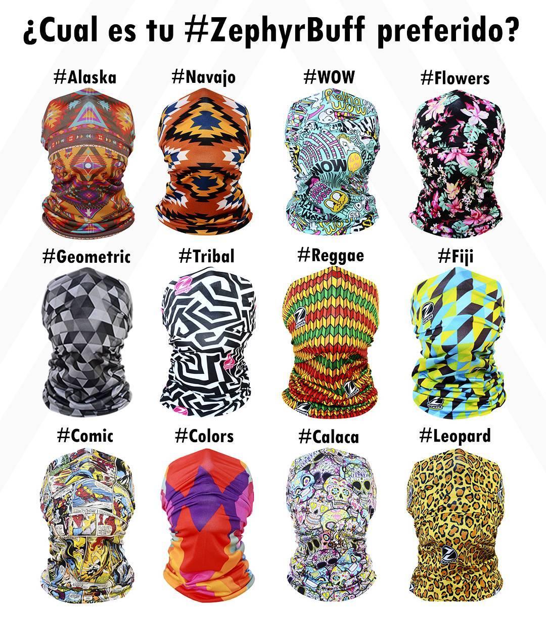 Encontra estos #ZephyrBuff en www.zephyrgear.com.ar! #ResistíElInvierno