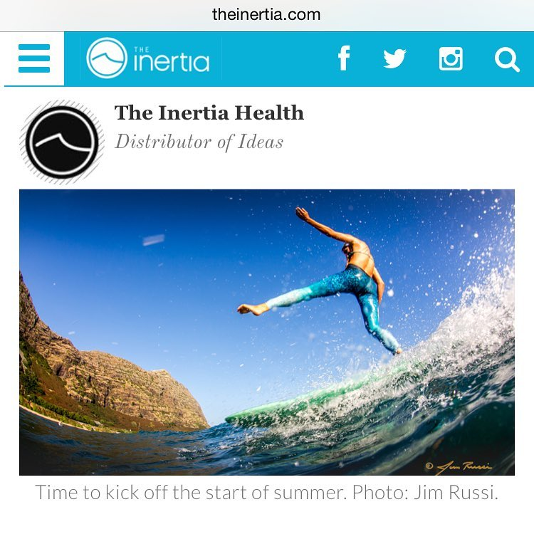 SUMMER VIBES We teamed up with @theinertia & @theinertiahealth to share healthy ways to kick off summer with @emi_erickson @meggels_ @kaleiadeal @gilliangibree