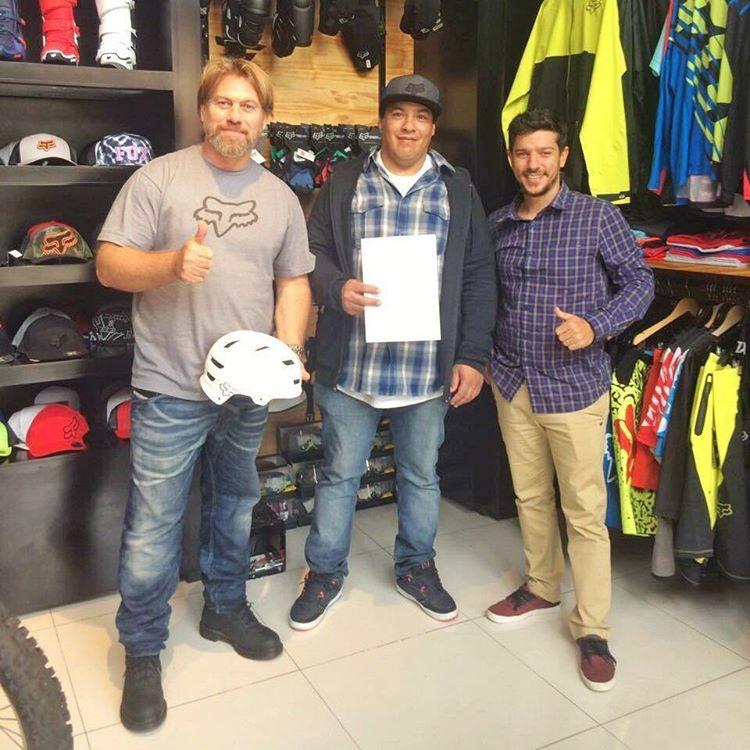 Bienvenido nuevamente @ChrisBalma al Fox Team. Orgullosos de tener a este gran rider con nosotros. #FoxHeadArgentina