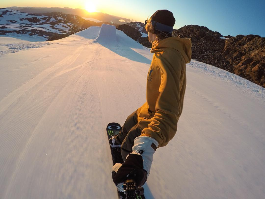 Summer Solstice, Norwegian-style.  Here's how @sagekotsenburg spent the longest day of the year. #FBF