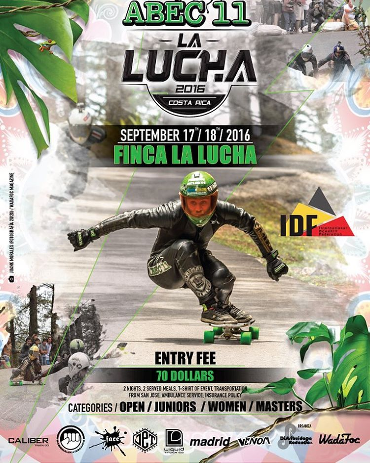 we are stoked to be sponsoring this sick event in Costa Rica. if you're in the area pull up!