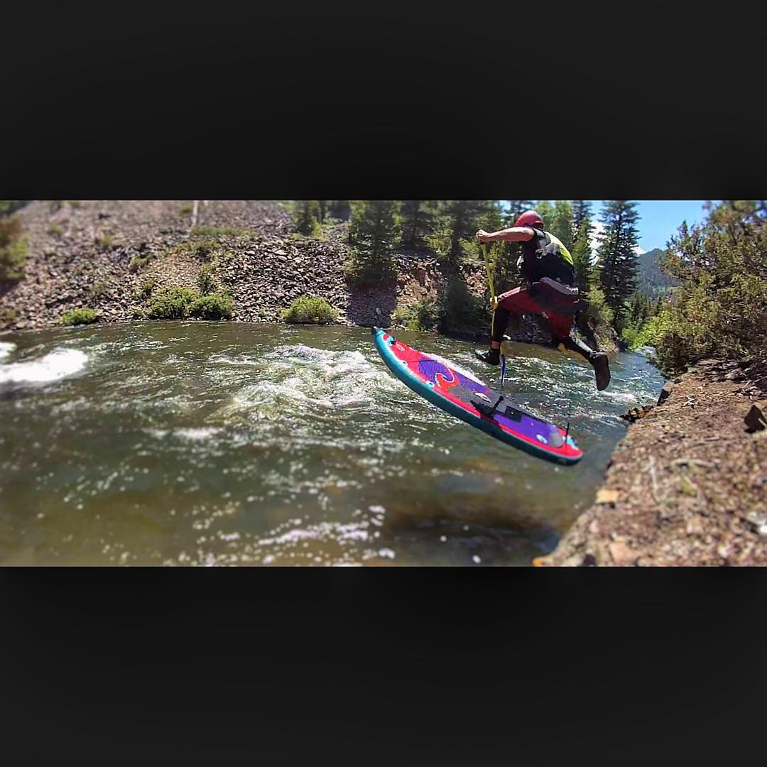 Peter Hall dropping in on the Blue River!