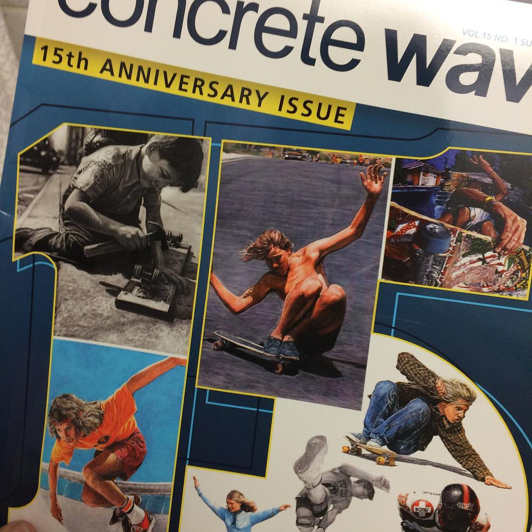 #new #concrete #wave #magazine is here.  We will be throwing them in with select orders as usual. #thankyou #skateboarding #longboard #sk8 #skatelife #snap #chat #snapchat