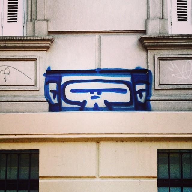 #pixel #monkey #streetart #graffiti #arteurbano #modulo #palermo