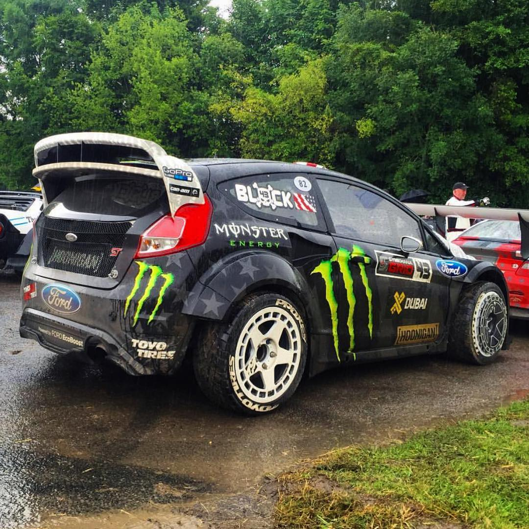 HHIC @kblock43 dusting off the trusty Fiesta RX43 and putting it to work at Good Wood Festival Of Speed this weekend! #goodwoodFOS