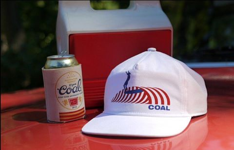 Crack a cold one and throw on The Break SE cap. Pairs well with juicy burgers and tasty waves. #coalheadwear