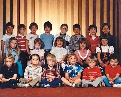 Throwin' it back to #preschool with a classic favorite photo - happy 20 year reunion #InclineHighSchool class of 1996!!! #SeniorsRule