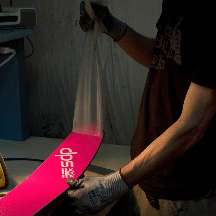 Pink magic at the DPS Factory in Salt Lake City, Utah